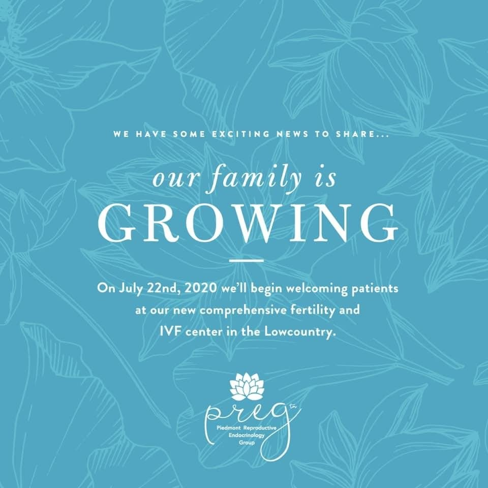 IVF Center Charleston SC PREG